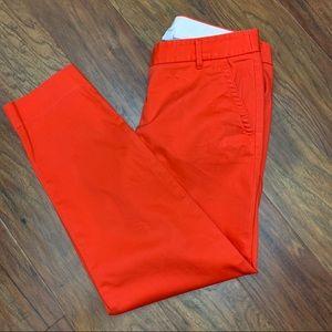 J. Crew Stretch City Fit Pants Size 0